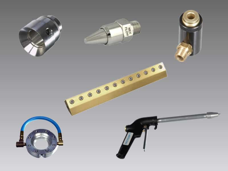 Compressed air blowoff products
